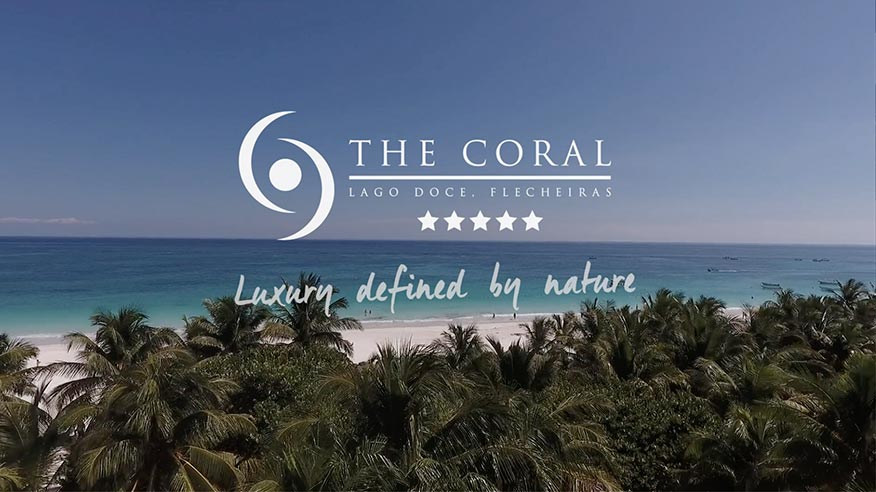 Video of The Coral beach resort in Brazil