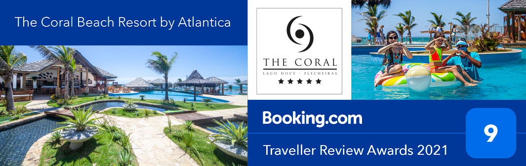 The Coral gets award for one of top 10 places to holiday in Ceará