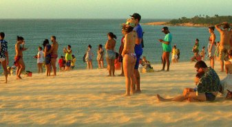 Number of foreign tourists in ceará grows 99%
