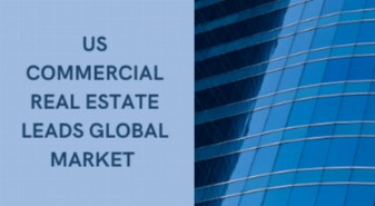 US commercial real estate leads global market